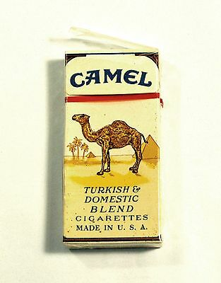 Vintage Antique WW2 Camel Cigarettes Ration Pack of 4 US Army SEALED