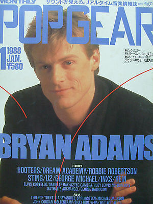 Bryan Adams - Clippings From Japanese Magazines