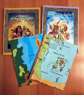 Maztica (incomplete) Forgotten Realms Dungeons & Dragons TSR 1066 used