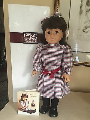 American Girl Doll Samantha PreMattel Pleasant Company In Box EUC!!