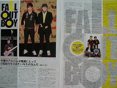 Fall Out Boy - Clippings From Japanese Magazines