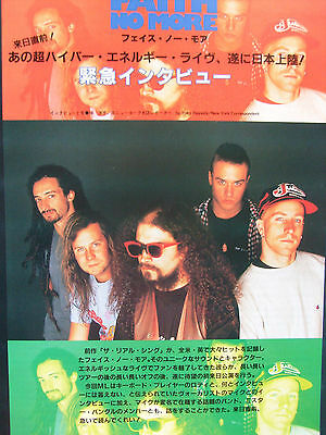 Faith No More - Clippings From Japanese Magazines
