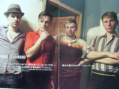 Franz Ferdinand - Clippings From Japanese Magazines