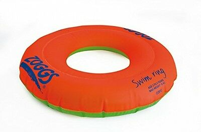 Zoggs Kids Swim Inflatable Floatation Ring - Orange, 3-6 Years
