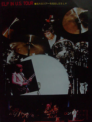 Keith Emerson / Emerson Lake & Palmer/powell - Clippings From Japanese Magazines