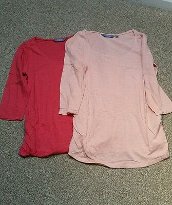 2 x New Look maternity tops size 12