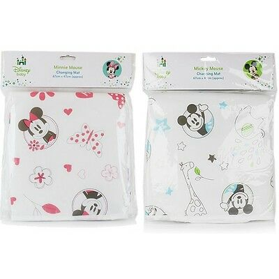 Minnie or Micky Mouse Travel Baby changing mat
