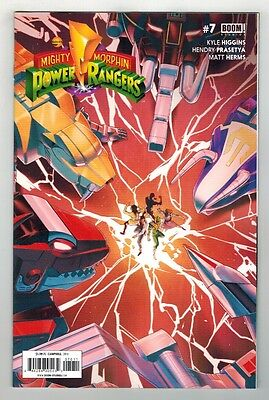 Mighty Morphin Power Rangers #7 - Jamal Campbell Cover - Boom Comics - 2016