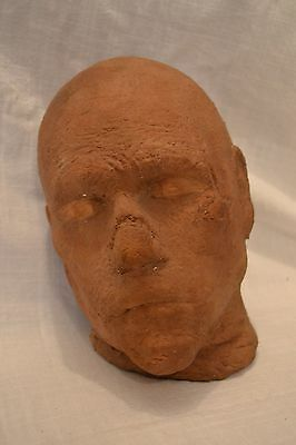 ORIGINAL Mummy Head Boris Karloff Horror Movie Film Prop VINTAGE RARE Severed