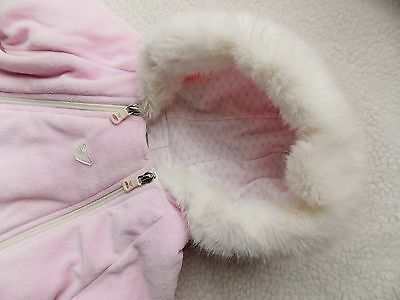 Armani baby Girls Snowsuit 3 months 56 cms