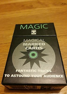 Magic marked magicians cards