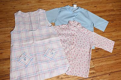 Vintage Girls 3 Piece Shirt / Jumper Dress Penny Penn-Prest Carol Evans Size 10