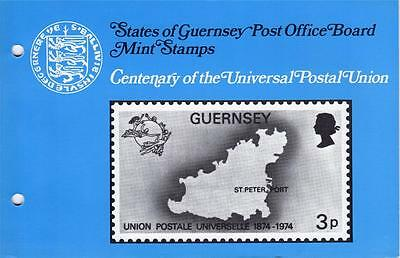 Guernsey Presentation Pack - 1974 - Universal Postal Union (SG114-7)