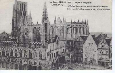 Belgium - St Martins Church and part of the Market (LCH, Paris)
