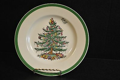 "Spode 7 3/4""  Salad Plate -  Christmas Tree Pattern S3324M, made in England"