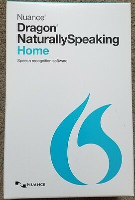 Dragon NaturallySpeaking Home 13.0 includes Headset New!