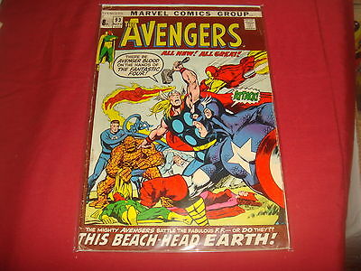 THE AVENGERS #93 Neal Adams  Marvel Comics 1971 VG/FN