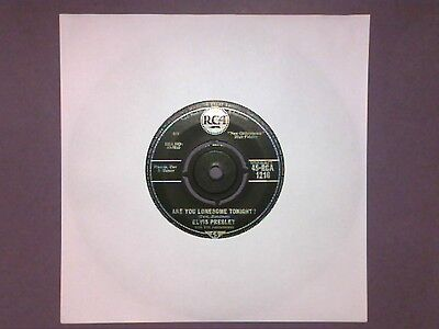 """Elvis Presley - Are You Lonesome Tonight? (7"""" single) RCA 1216"""