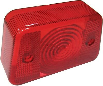 SPI Replacement Snowmobile Taillight Lens For Polaris Red AT-01052