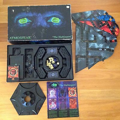 ATMOSFEAR VHS VIDEO HORROR BOARD GAME the Harbingers Goth Television Game