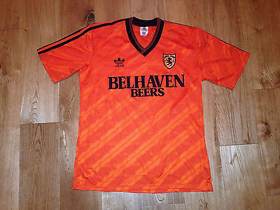 Dundee United - Match / Player issue Football Shirt 1987/88 Adidas Scotland