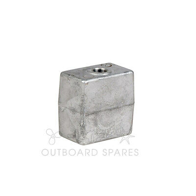 Evinrude Johnson Aluminium Block Anode for 40hp to 300hp Outboard (Part# 436745)