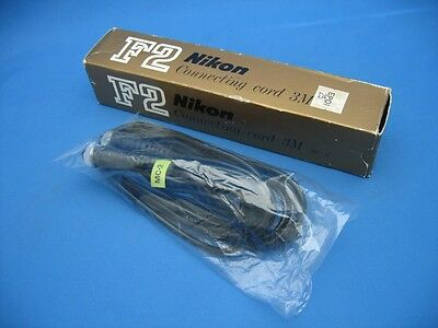 NIKON MC-2 CONNECTING CORD for MA-4 to F2 w MD-1, MD-2, MD-3 - NOS