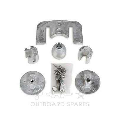 Mercury MerCruiser Aluminium Anode Kit for Bravo 3 Sterndrive (Part # 888761Q04)
