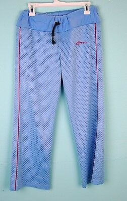 VTG 2B Free Women's Blue Long Casual Athletic Wear Workout Pants Sz S M