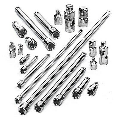 Craftsman 21 pc Adapter Extension Accessory Set 1/4, 3/8, 1/2 - ^*NEW^* - 44283
