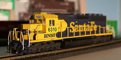 Kato HO SD-40 BNSF Ex-ATSF   #6310 Patched Weathered