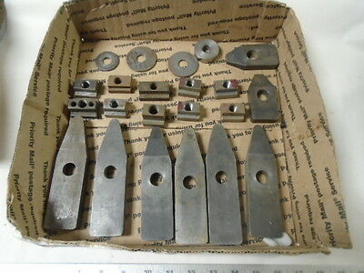 MACHINIST TOOLS LATHE MILL Machinist Lot of Hold Down Blocks for Set Up