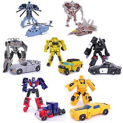 Fashion Transformation Kids Classic Robot Cars Toys For Children Kids Gift 1pc Y
