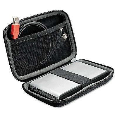 Case Logic PHDC1BK Compact Portable Hard Drive Case, Black