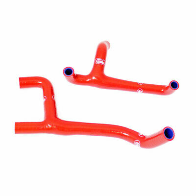 Husqvarna TC250 2010 -13 Samco Silicone Thermo Bypass Rad Hose Kit Red