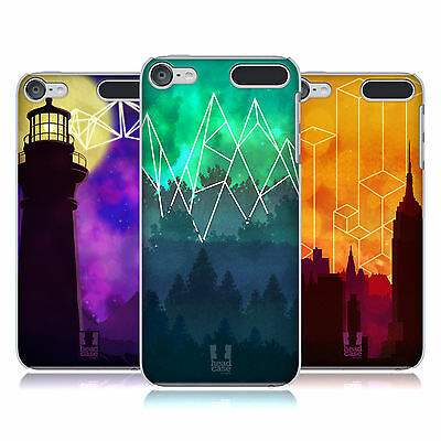 HEAD CASE DESIGNS GEOMETRIC LANDSCAPES HARD BACK CASE FOR APPLE iPOD TOUCH MP3