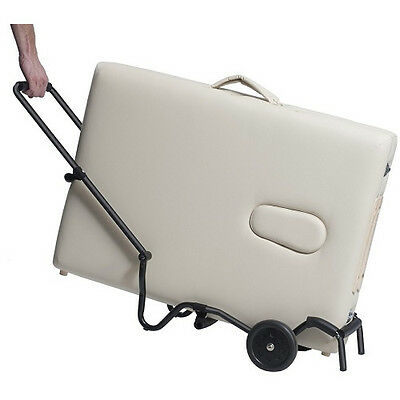 New! Massage Table Trolley-Folding Rolling Cart Carrier