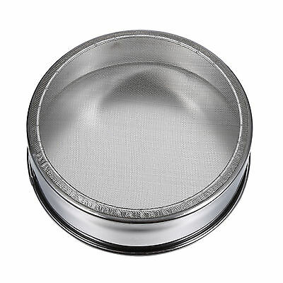 Mesh Flour Sifter Kitchen Stainless Steel Sifting Sieve Strainer For Cake Baking