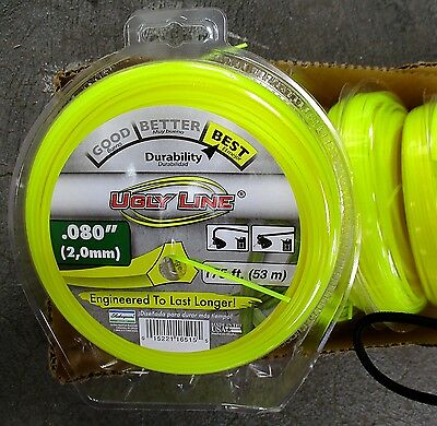 Shakespeare UGLY LINE USA 53 Metre ROLL of 2.0mm NYLON Whipper Trimmer Cord 53M