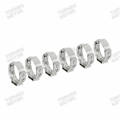 "1/2"" Stainless Steel Ear PEX Clamp Cinch Rings Crimp Pinch Fitting 100PCS"
