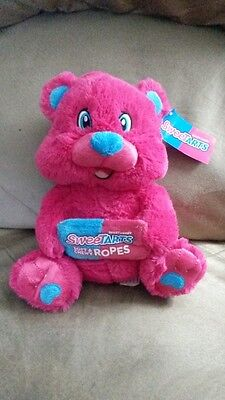 "NESTLE CANDY BAR BEAR SWEET TARTS New Licensed Plush Stuffed Tags 10"" KELLYTOY"