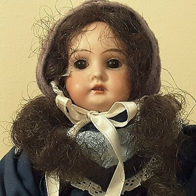 "SWEET 12"" Antique Armand Marseille Bisque Head Girl 3200 AM 9/0 DEP Doll"