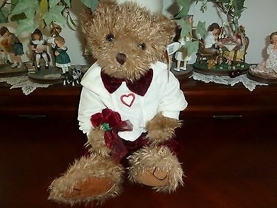 "Valentine Sweetheart W/Roses Russ Berrie #4603 ALEXANDER,16"" mint w/tags Retired"