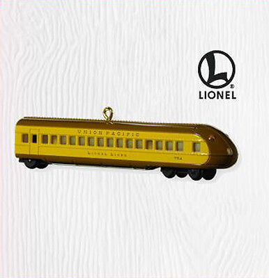 2010 Hallmark Lionel UNION PACIFIC STREAMLINER BUFFET COACH Train Ornament