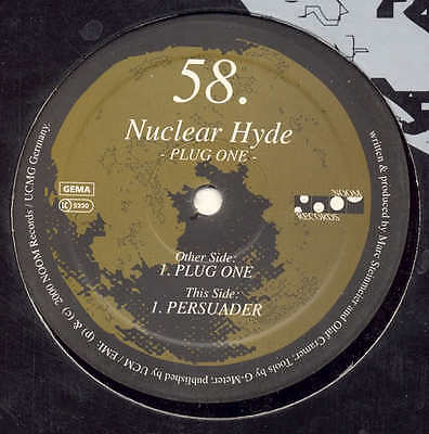 "NUCLEAR HYDE - Plug One - MOON RECORDS 12"" MIX"