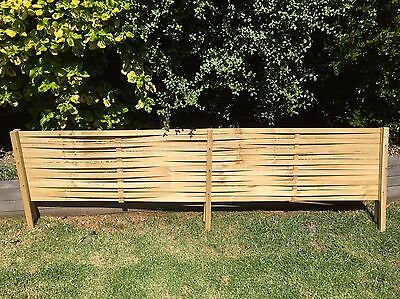 Woven lattice Fence Extensions Treated Pine