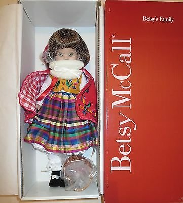"""14 inch Tonner Betsy McCall  BETSY MCCALL """"RED RIDDING HOOD """" NRFB NEW"""