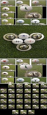 1 ONLY  TIN CUP GOLF BALL MARKER - YOURS FOR LIFE - more than 40 TO CHOOSE FROM