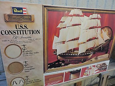 """Revell 36"""" Long  Uss Constitution Sailing  Ship      No Instructions"""