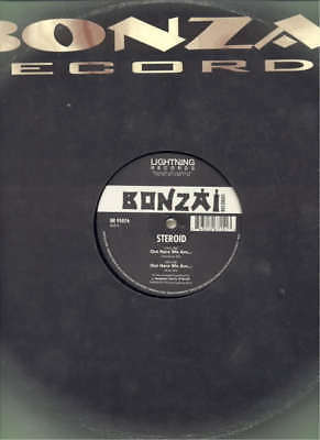 "STEROID Out Here We Are - BONZAI RECORDS DJ 12"" MIX"